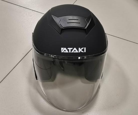 Шлем Ataki JK526 Solid,➲ купить в Москве - ✓отзывы, ✓характеристики, ✓цены в магазине Motor4ik.ru -