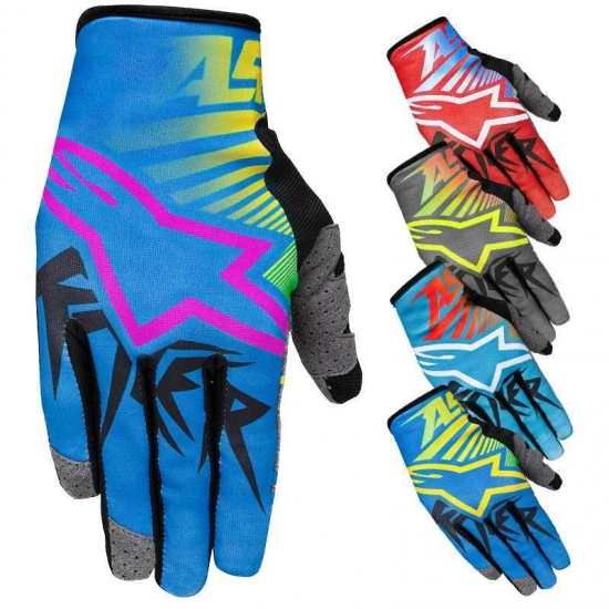 купить ALPINESTARS перчатки текстильные youth raser braap gloves